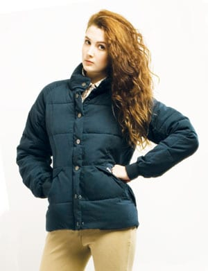 Chic Puffa Original peached microfibre jacket, only £69