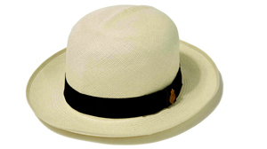Proper Panama hat: the top-quality Superfine Folder (Grade 8) from Christy & Co