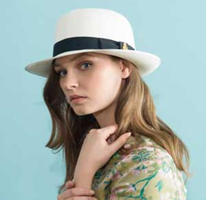 Christys' & Co Superfine (Grade 8) Folder Panama Hat, Preset, with Tube: save £47