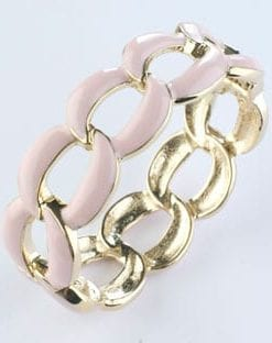 The new Pink Links enamel hinged cuff