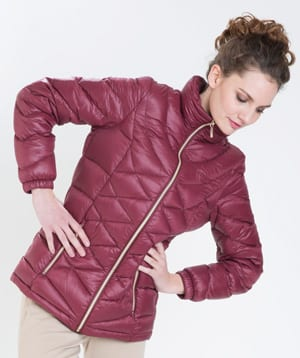 Great Outdoors: Light new diamond quilt Patagonia puffa in English duck down