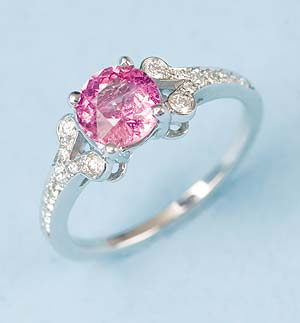 The Manhattan Pink Sapphire Ring