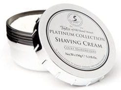 Finest new fragrance and shaving cream from Taylor of Old Bond Street: Platinum Collection: Shaving Cream Bowl (150g) & Fragrance (50ml)