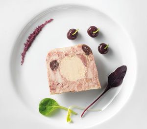 Rougie's original recipe Pigeon and Foie Gras Terrine: 1kg for only £37 delivered