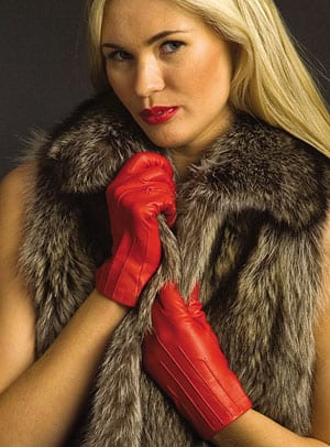 Capeskin English leather gloves