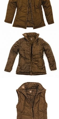 Stylish reversible jacket and gilet