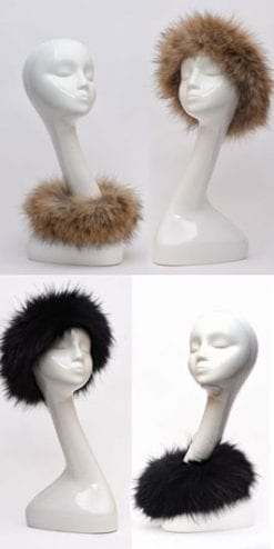 Hats off: it's the new Roxy Raccoon fur at £39!