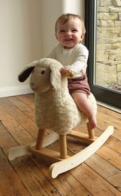 Rock and roll in the nursery: all-time favourite Rocking Sheep