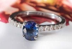 The Titian Sapphire Solitaire Ring: testament to the beauty of the natural blue sapphire