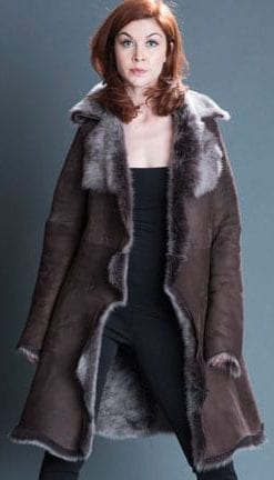 Shearling, The Ins and Outs: Luxurious Lambskin Toscana Coat
