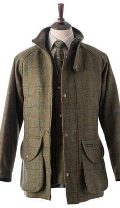 Hucklecote pure wool tweed shooting suit: jacket, £197 (instead of £375)