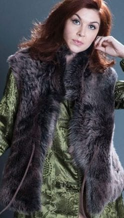 Pure silk brocade coat: fabulous new-season trend