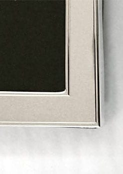 Classic sterling silver photo frame - 6x8 inches