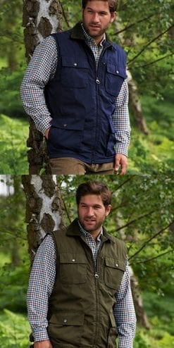 Smart new all-season country waistcoat, a snip at only £22