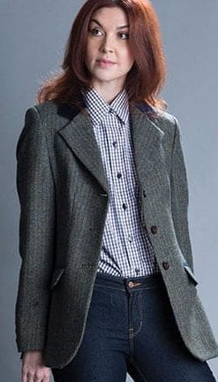 The New British Heritage: Abbeydale Jacket in pure wool tweed by Abraham Moon