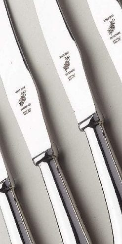 Hand-serrated Sheffield steak knives: possibly the best in the world