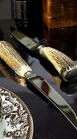 Stag-handled steak knives | Set of 6