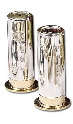 Shotgun Cartridge Salt and Pepper Shakers