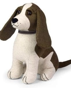 Smart Springer Spaniel at your service: Dora Designs doorstop: a friend in waiting