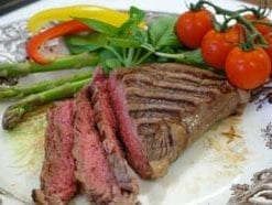 Finest Welsh Wagyu (Kobe) sirloin steak: 2 x 10oz steaks