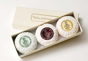 Taylor of Old Bond Street luxury soap sets