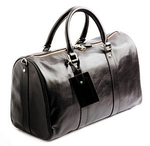 Luxurious Leather Travel Bag