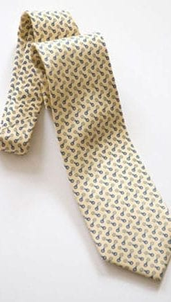 The perfect tie for a man of the Turf, and a snip at £15