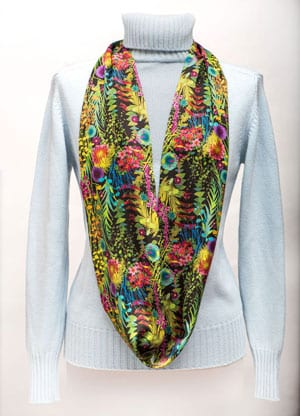 Liberty London 'Tresco Summer' Silk Scarf: a snip at only £39