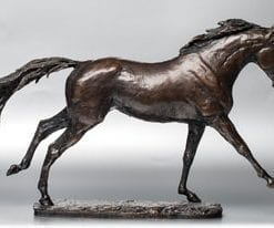 Limited edition fine art bronze Thoroughbred by David Geenty