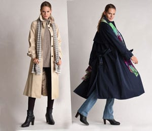 New Bellucci full-length trench coat: serious chic