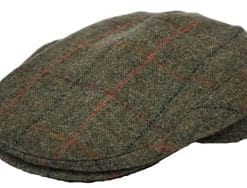 Hucklecote pure wool tweed shooting suit: cap, £27 (instead of £48)