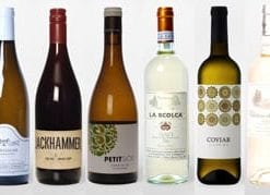 New wine pairings for gourmet seafood: Mixed Tasting Case of 12 bottles, 2 bottles of each wine