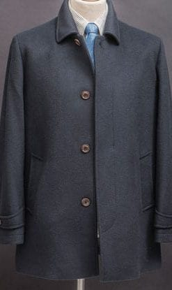 Super smart new cashmere-wool coat for stylish men: beautifully tailored by Magee