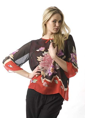 Tropic Garden Silk Tunic