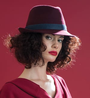 Classic pure wool trilby hat by Christys'