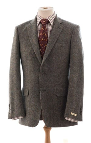 Beautifully tailored new tweed jacket for autumn 2013