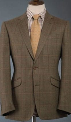 Beautifully tailored tweed jacket by Magee: usually £250, Members' El Snippo price, £139
