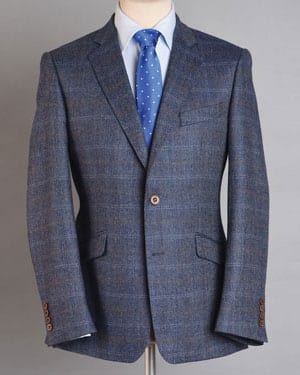 Six of The Best: Distinguished, well-cut new pure wool tweed jacket tailored by Magee