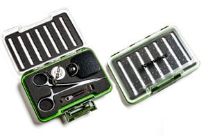 Ingenious new Fishermen's Fly Box Tool Set from Snowbee: a snip at £29