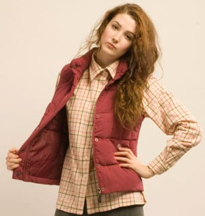 New Tattersall check shirt for the girls, pure cotton, £21