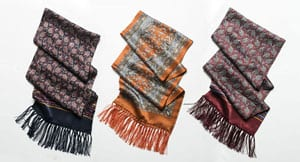 The famous Tootal retro pure silk gentlemen's scarf for a mere £29