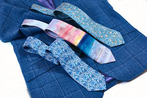 A new silk tie for the artistic man: J M W Turner 'Sunset'