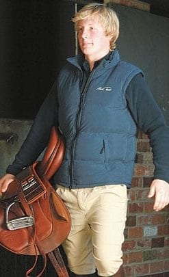 Gilet from Olympic Equestrian Mark Todd