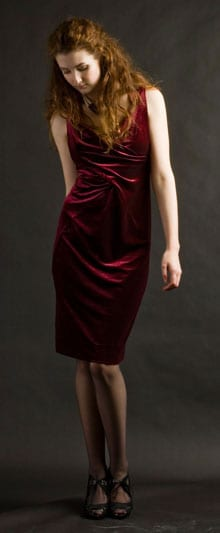 The new velvet dress: gorgeous, sophisticated—and only £53