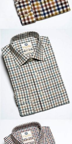 The new Viyella shirt: quintessentially English, and a snip at only £39.50