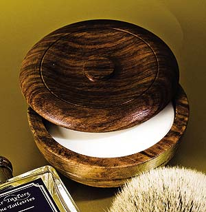 Taylor of Old Bond Street Shaving Soap in Wooden Bowl