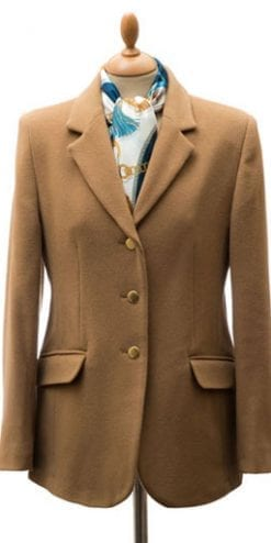 Classic new cashmere-wool blend Hartnell ladies' blazer: a snip at £85