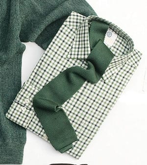 Warm Handle Viyella Cotton And Merino Wool 80 20 Check Shirts Countryclubuk