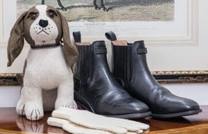 Hunter Boots' ultimate leather Wellesley Jodhpur Boots from the Duke of Wellington Collection