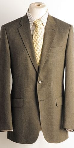 Mens wool and cashmere jacket